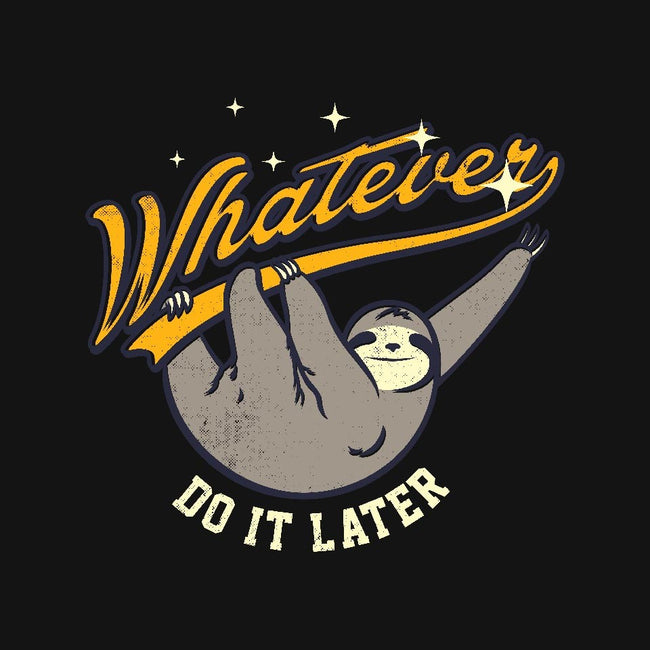 Do It Later-mens long sleeved tee-Mathiole