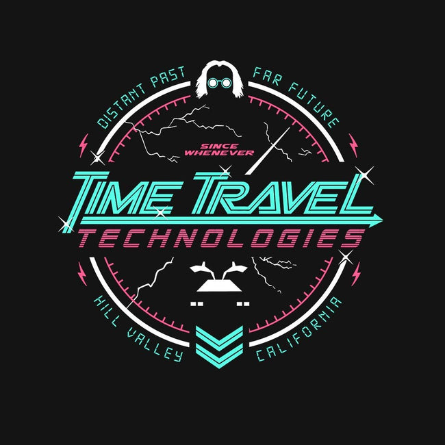 Time Travel Tech-womens basic tee-gamma-ray