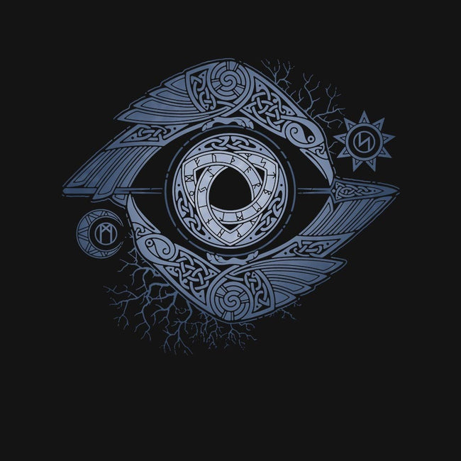 ODIN'S EYE-unisex crew neck sweatshirt-RAIDHO