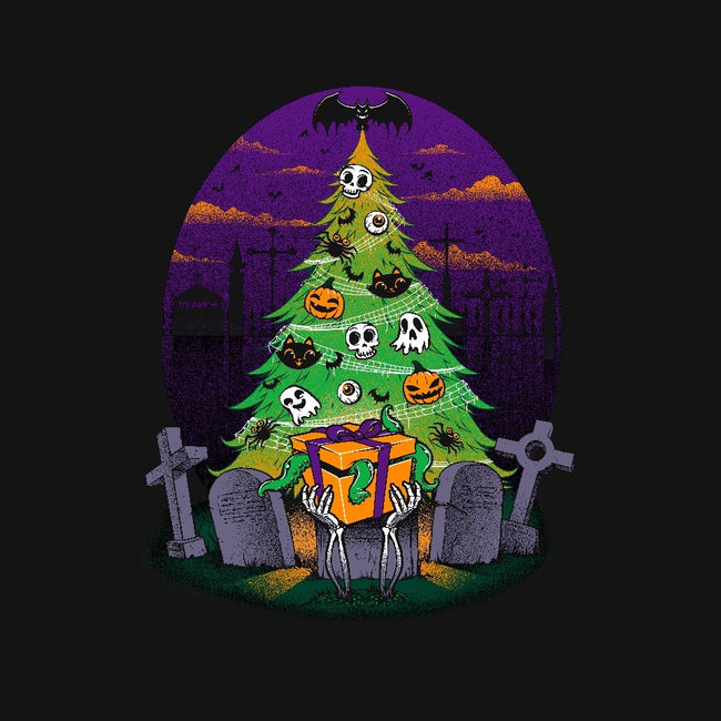 Halloween Is My Xmas-womens fitted tee-tobefonseca