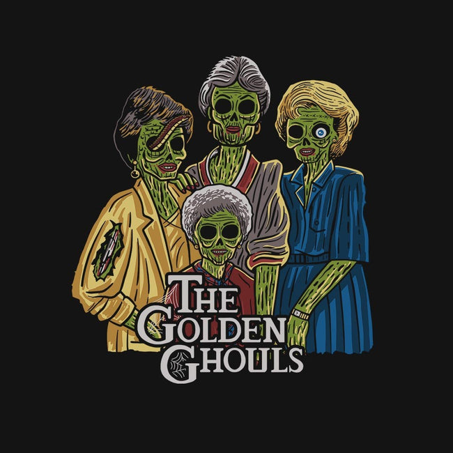 The Golden Ghouls-womens basic tee-ibyes_illustration