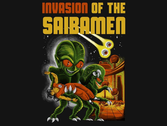 Invasion of the Saibamen