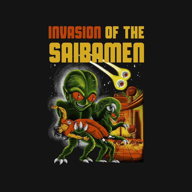 Invasion of the Saibamen-mens basic tee-diegopedauye