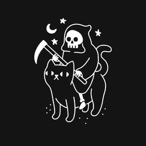Death Rides A Black Cat