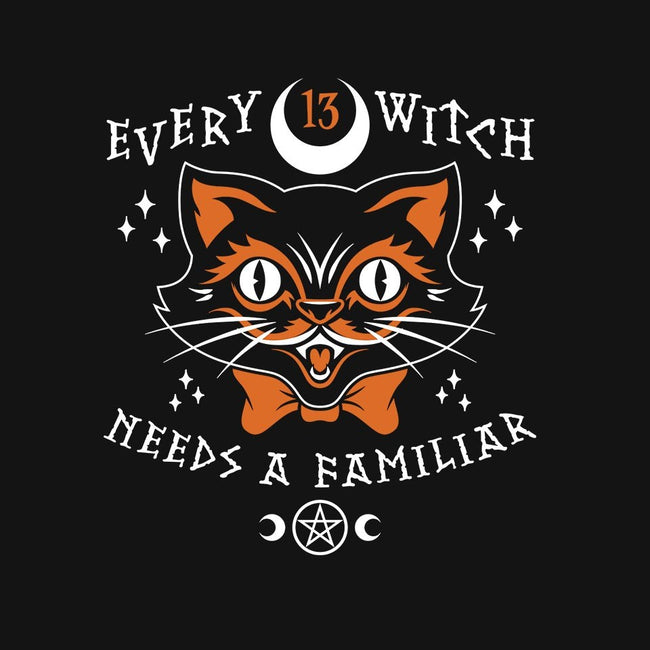 Every Witch Needs A Familiar-womens basic tee-nemons