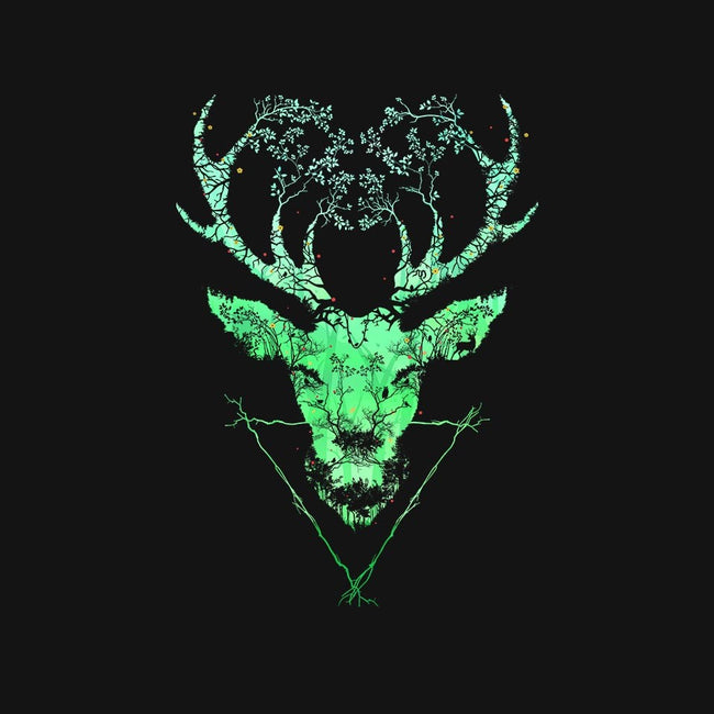 Dark Forest Deer-mens basic tee-Sitchko Igor