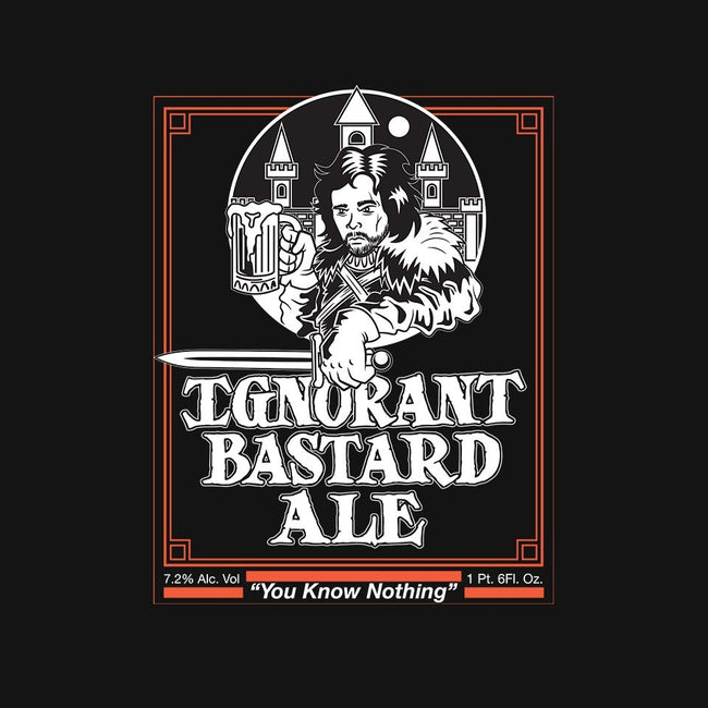 Ignorant Bastard Ale-womens basic tee-krusemark