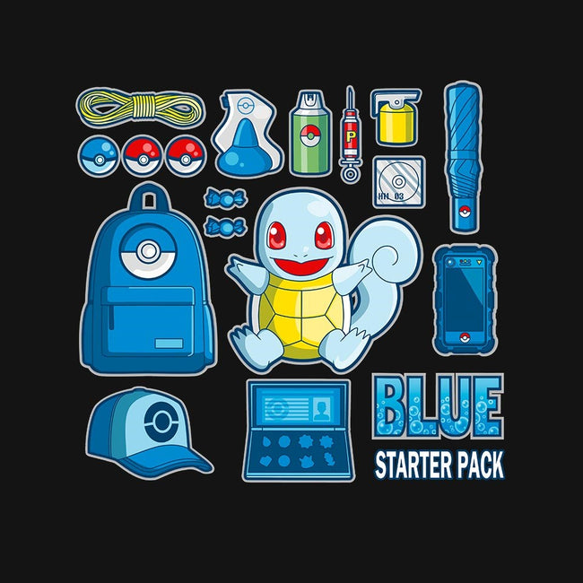 Blue Starter Kit-mens basic tee-MIKELopez