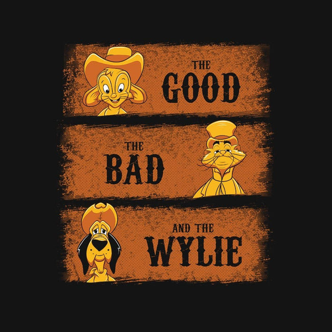 The Good, The Bad and The Wylie-womens basic tee-stuffofkings
