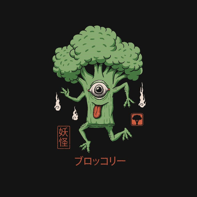 Yokai Broccoli-unisex zip-up sweatshirt-vp021