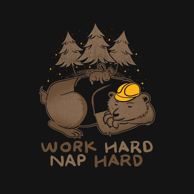 Work Hard Nap Hard-mens basic tee-tobefonseca