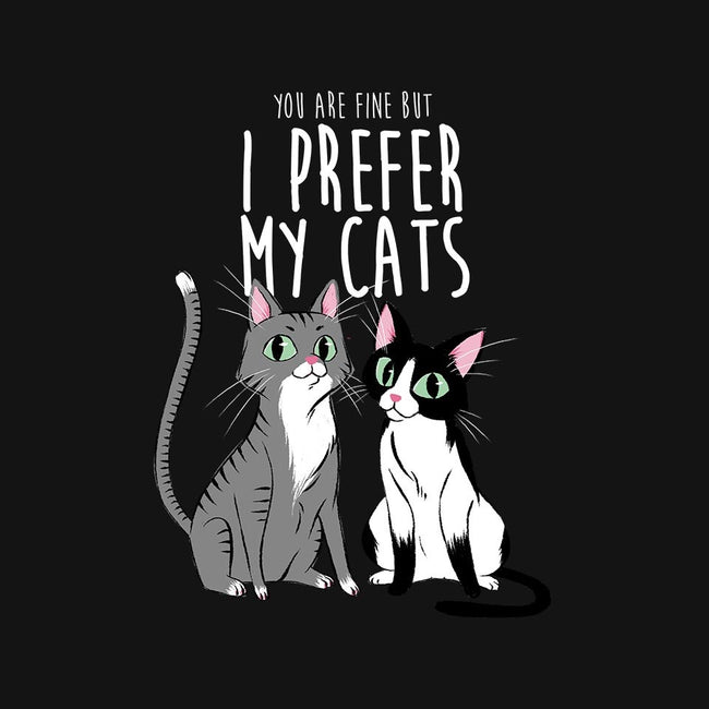 I Prefer My Cats-mens long sleeved tee-ursulalopez