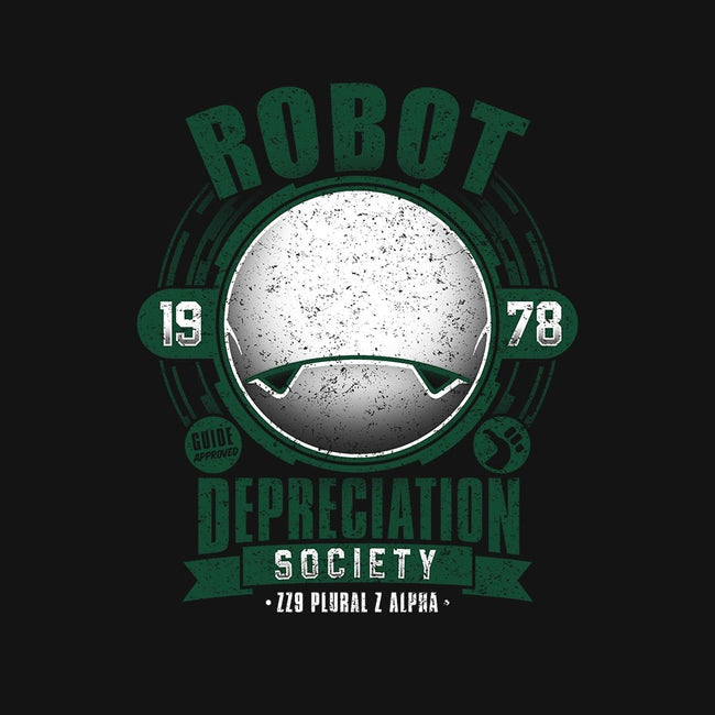 Robot Depreciation Society-mens basic tee-adho1982