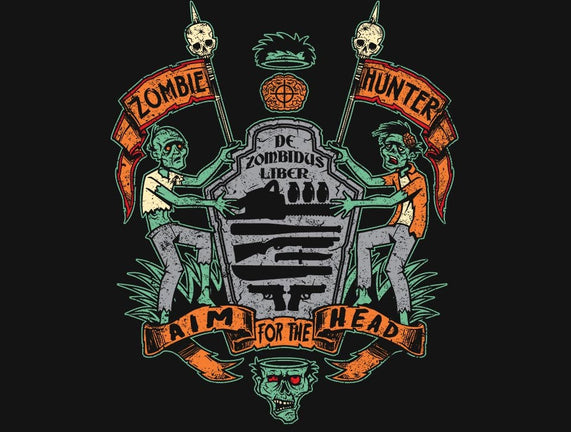 Zombie Hunter Coat of Arms