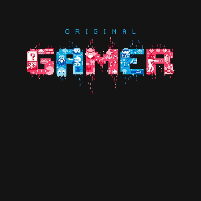 Original Gamer-womens fitted tee-DJKopet