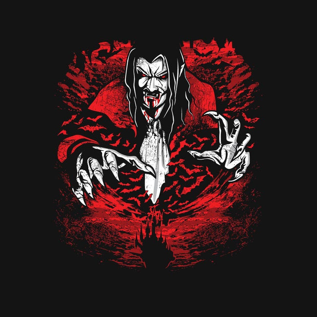 Dracula of the Night-mens basic tee-draculabyte