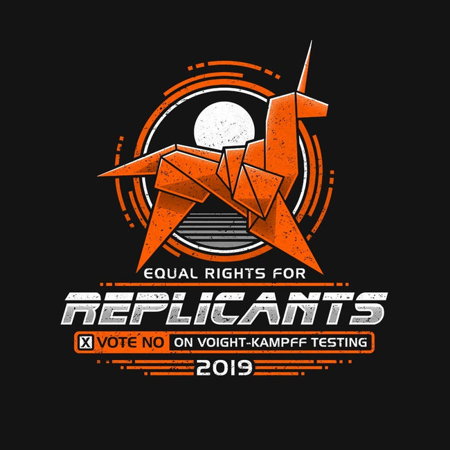 Equal Rights For Replicants-mens basic tee-adho1982