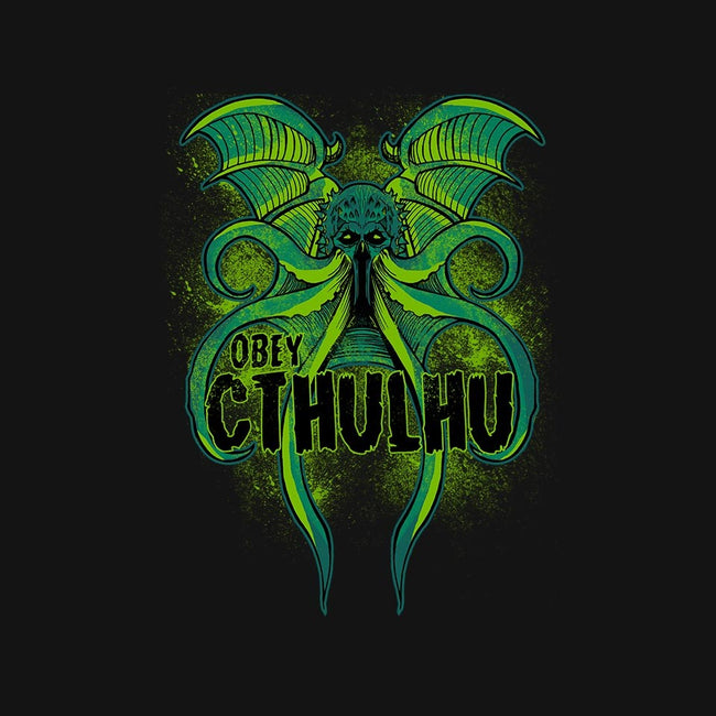 Obey The Cthulhu-mens basic tee-fanfreak1