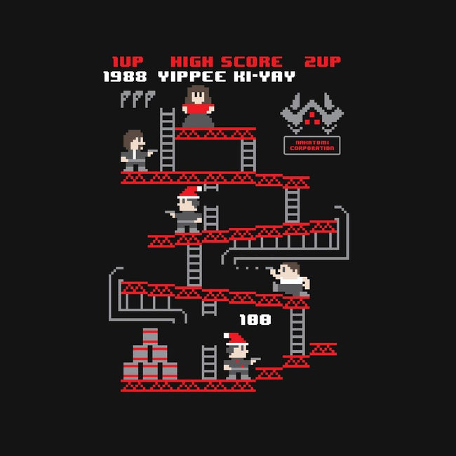 Yippee Ki-Yay The Arcade Game-womens basic tee-jrberger