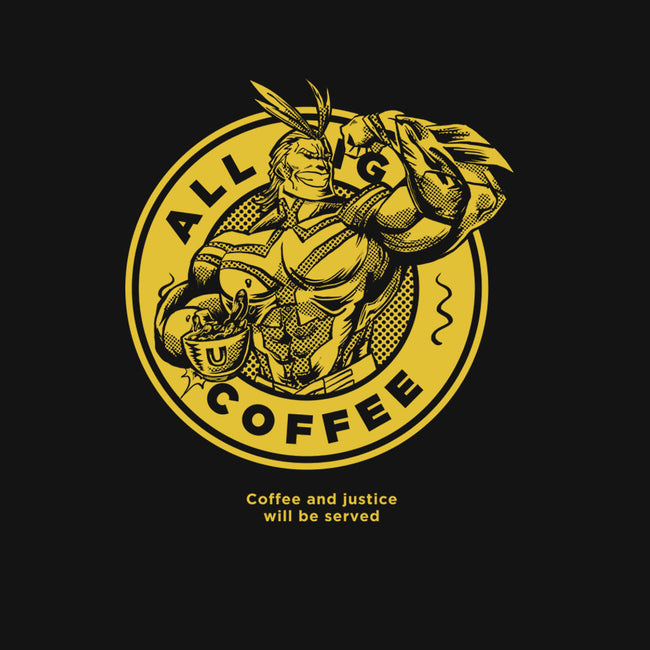 All Might Coffee-youth basic tee-yumie