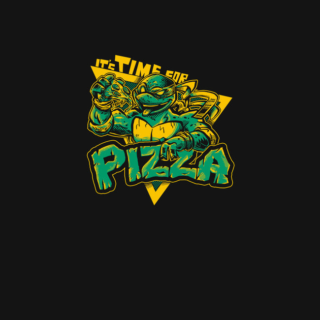 Time For Pizza-mens basic tee-yumie