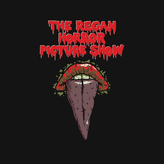 The Regan Horror Picture Show-mens basic tee-mikehandyart