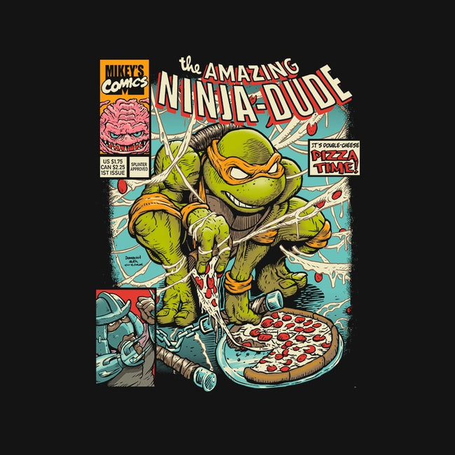 Amazing Ninja Dude-mens basic tee-DonovanAlex