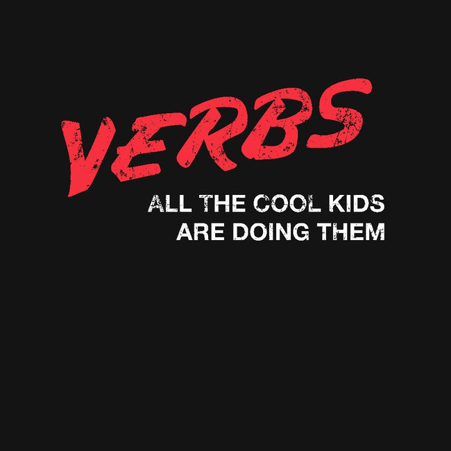 Verbs-womens basic tee-MadeWithAwesome