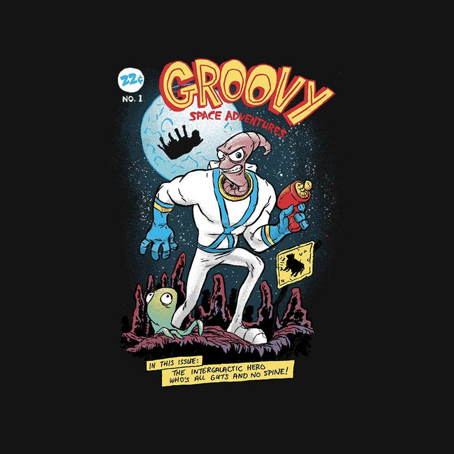 Groovy Space Adventures-unisex zip-up sweatshirt-AustinJames