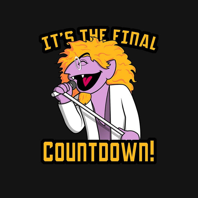 The Final Countdown-mens basic tee-Raffiti