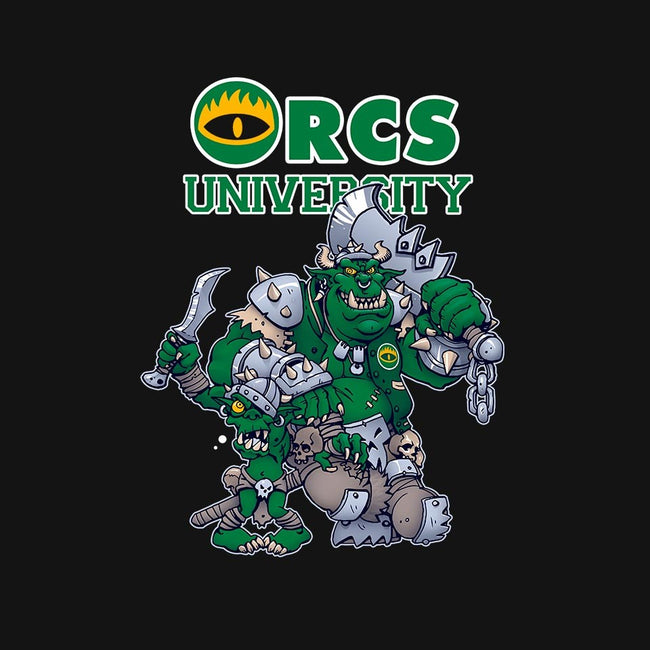 Orcs University-mens long sleeved tee-CuckooArtDesign