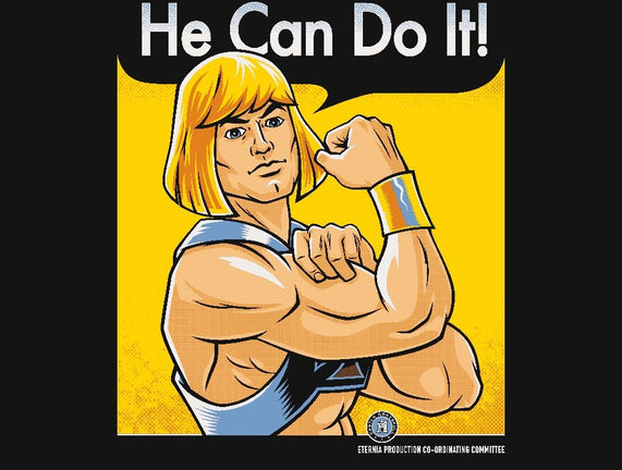 He Can Do It!