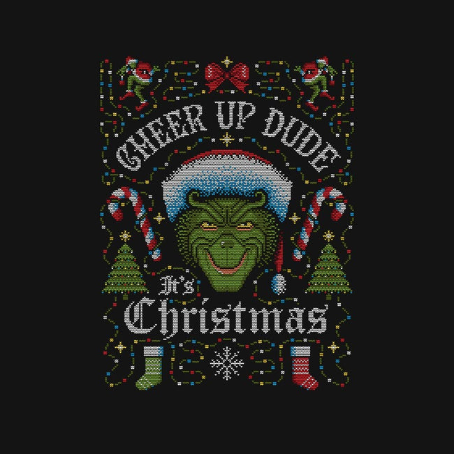Cheer Up Dude, It's Christmas-unisex crew neck sweatshirt-stationjack
