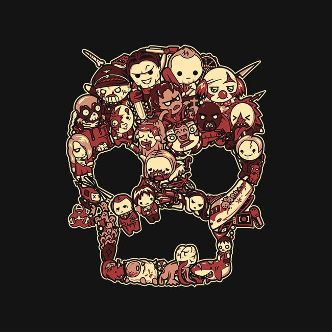 Scary Lil Zombies-mens basic tee-PrimePremne
