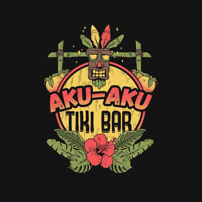 Aku Aku Tiki Bar-womens basic tee-ilustrata