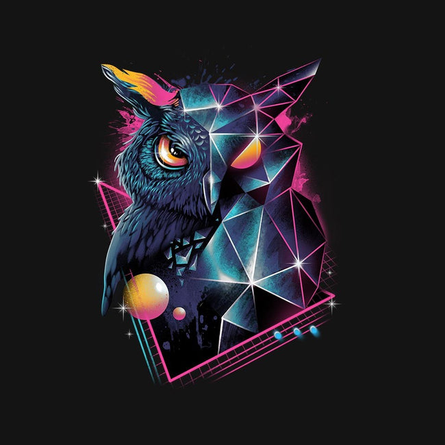 RAD OWL-womens fitted tee-vp021