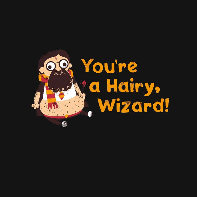 Hairy Wizard-unisex zip-up sweatshirt-wearviral