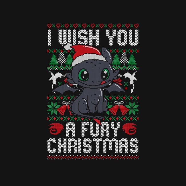 Fury Christmas-mens long sleeved tee-eduely