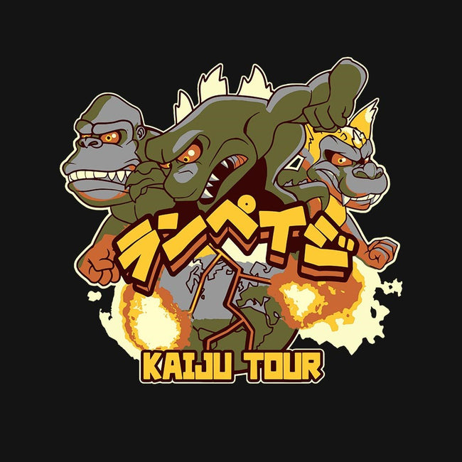 Kaiju Tour-unisex basic tank-bubbleknight
