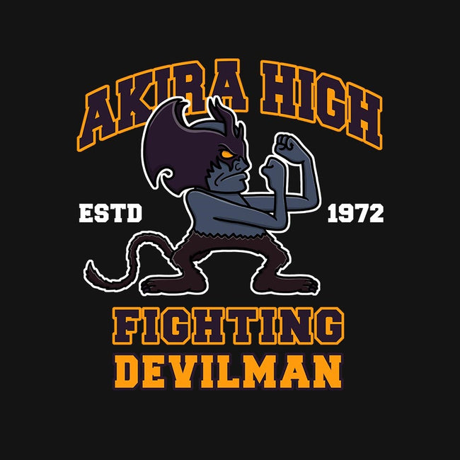Fighting Devilman-mens basic tee-Bohdan Bykon