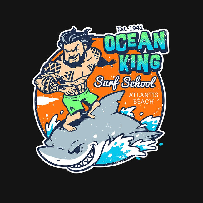 Ocean King-mens basic tee-Oktobear
