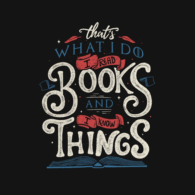 I Read Books and I Know things-womens basic tee-Tobefonseca