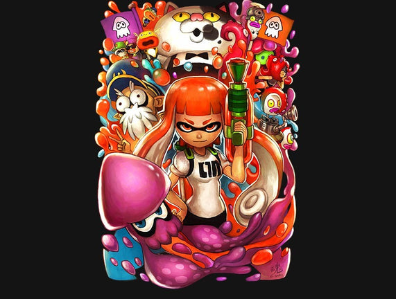 Colorful Splat