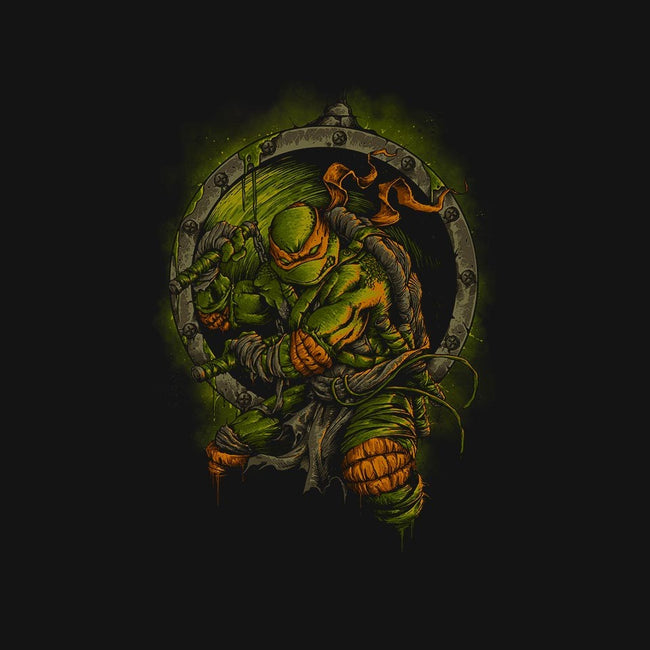 Turtle Titan-womens fitted tee-coldfireink