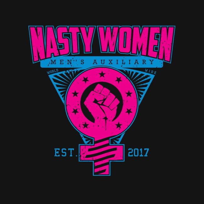 Nasty Women Auxiliary-unisex zip-up sweatshirt-SXStudios