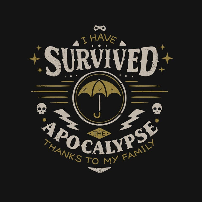 I Survived the Apocalypse-unisex basic tank-Typhoonic