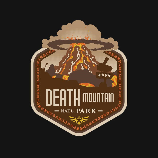 Death Mtn. National Park-mens basic tee-chocopants