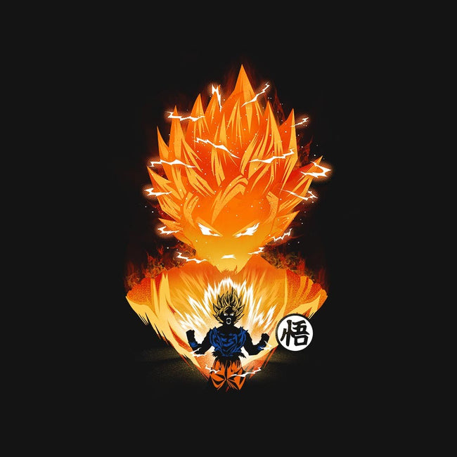 The Original Super Saiyan-youth basic tee-dandingeroz