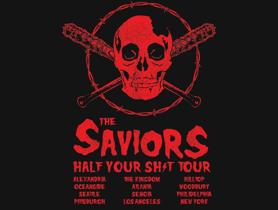 Saviors World Tour