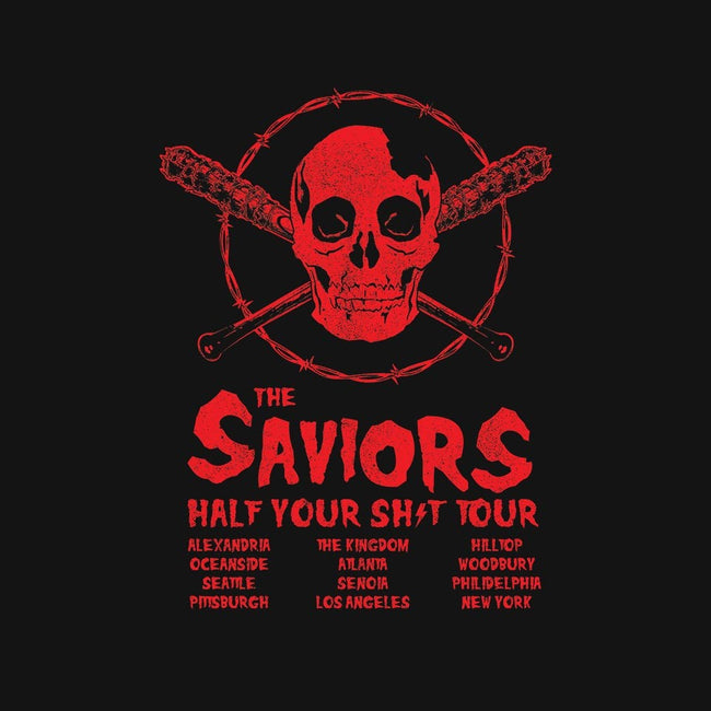 Saviors World Tour-mens basic tee-kentcribbs